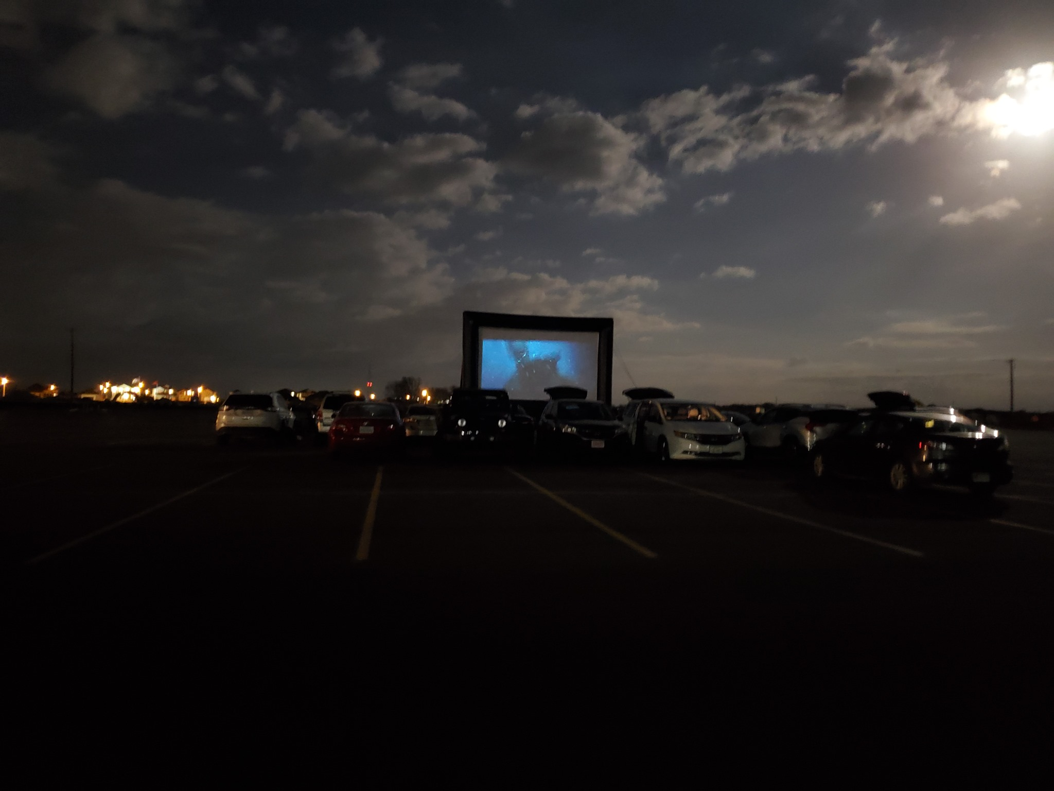 The Globe Drive In Theatre Located In Pflugerville Tx